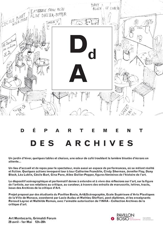 DdA, annonce web